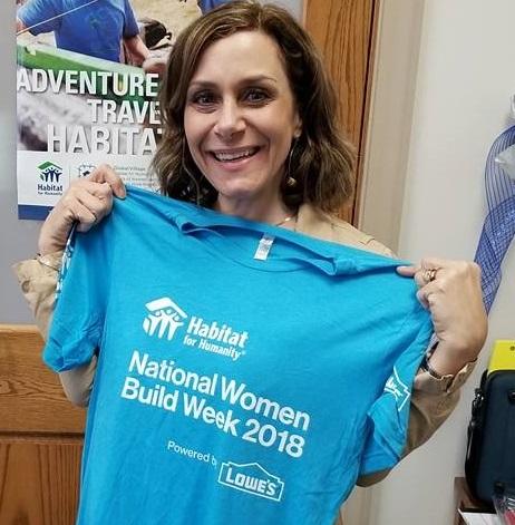 Women Build Tee