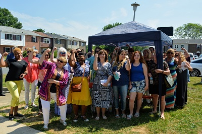 Women build 2018 group pic  at dedication
